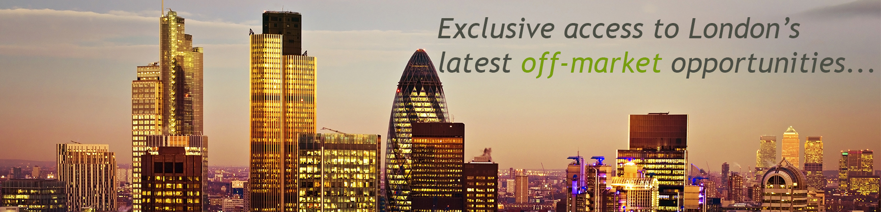 New Build Sales - Exclusive Access to London off plan property