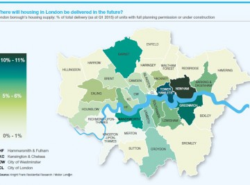 Land Investment and Acquisitions in London hotspots